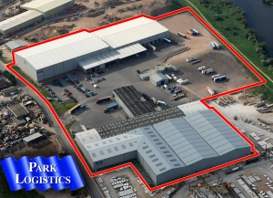 Park Logistics - Warehousing - Aerial shot of 17 acre site